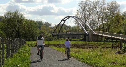 photo randonnée vélo route voie verte