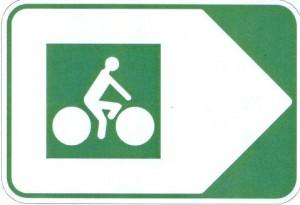panneau voie verte