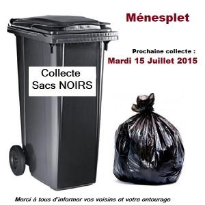 collecte sacs noirs JUIL2015