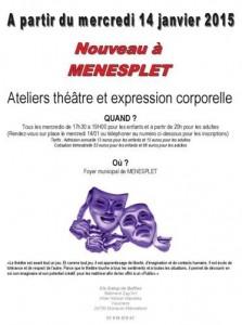 Ateliers théâtre et expression corporelle