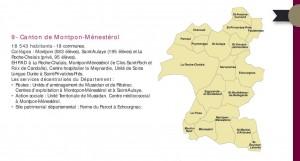 Canton de Montpon conseil départemental