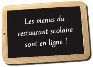 menus en ligne