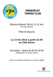 tennis galaxie 13.02.2016