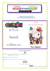 flyer Carnaval 12.03.2016