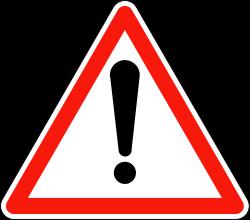 signalisation de danger
