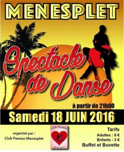 Spectacle Club passion 18.06.2016