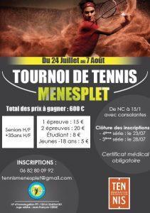 tennis tournois Ménesplet 24.7-7.8.2016